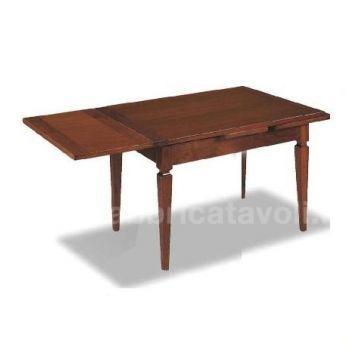 Produzione e vendita tavoli quadrati classici for Tavolo allungabile 80x80