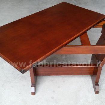 Tavolino trasformabile a tavolo 120x65 - Tavolino da salotto trasformabile tavolo da pranzo ...