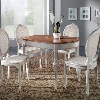 Produzione e vendita tavoli ovali classici for Tavoli classici