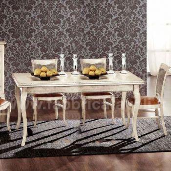 Produzione e vendita tavoli rettangolari classici
