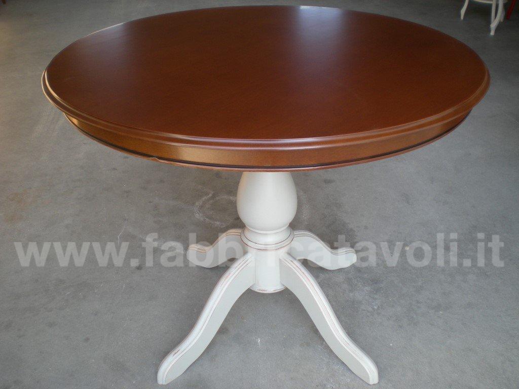 Tavolo con piano fisso diametro 90 oppure 100 for Tavolo rotondo diametro 90