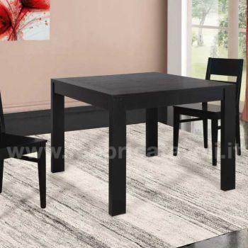 Tavolo 120x120 Allungabile.Produzione E Vendita Tavoli Quadrati