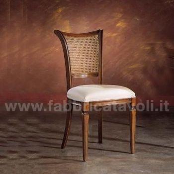 Sedia con seduta e schienale in paglia di vienna oppure for Sedie acciaio e paglia di vienna