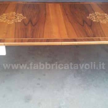 Tavolo Allungabile Intarsiato 115 203x95