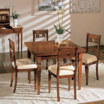 Produzione e vendita tavoli quadrati for Tavolo allungabile quadrato 120x120