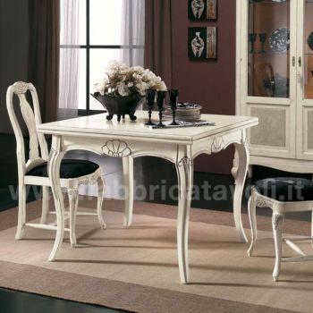 Produzione e vendita tavoli quadrati - Tavoli allungabili a libro ...