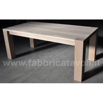 Tavolo Allungabile In Rovere 160 260x100 180 280x100