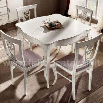 Produzione e vendita tavoli quadrati for Tavoli vendita